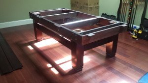Correctly performing pool table installations, Charleston South Carolina