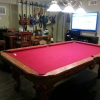 8ft Connelly Tournament Grade Pool Table