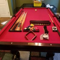 8ft Brunswick Pool Table